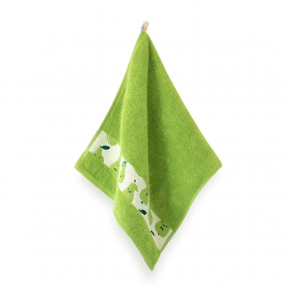 Ręcznik dla dzieci GRUSZKA groszkowy