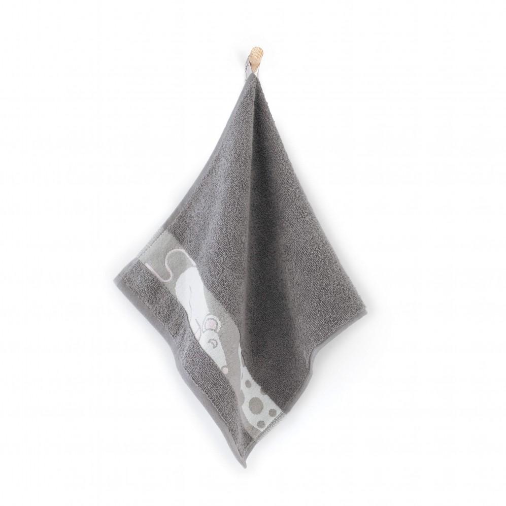 Ręcznik dla dzieci MYSZ dymny