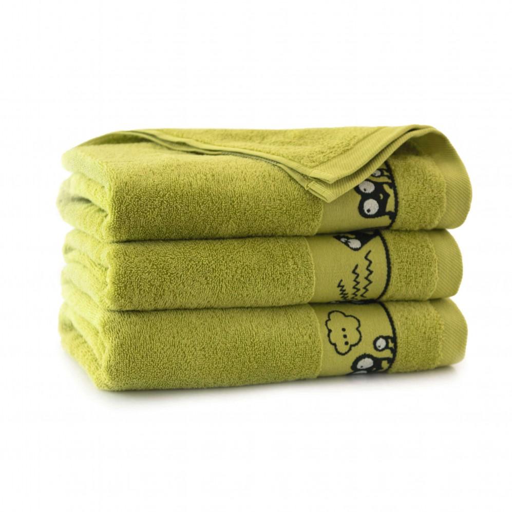 Ręcznik dla dzieci OCZAKI limonka
