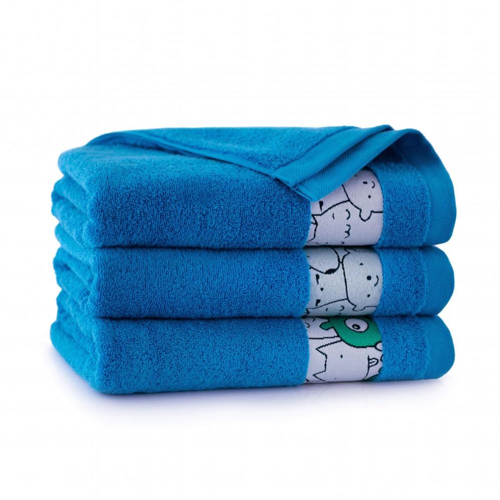 Ręcznik dla dzieci SLAMES błękit francuski