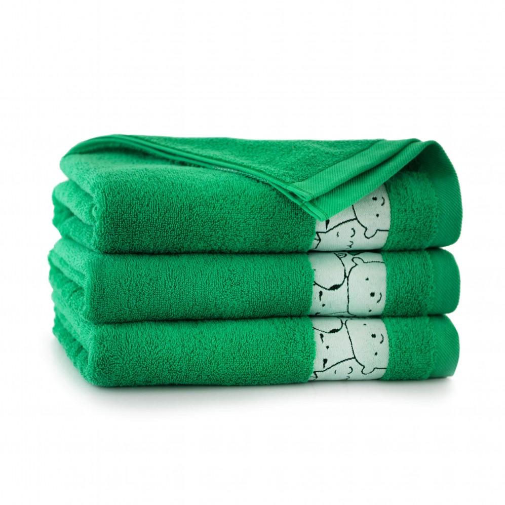 Ręcznik dla dzieci SLAMES malachit