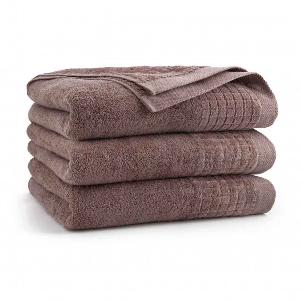 Ręcznik bawełniany brązowy Paulo 2 Cynamonowy AG