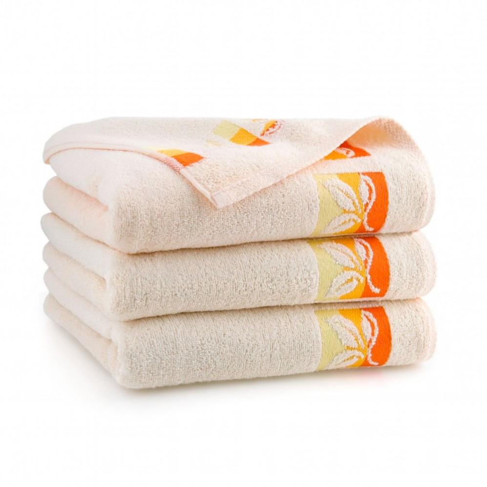 Ręcznik bawełniany Fraza 9 Porcelanowy